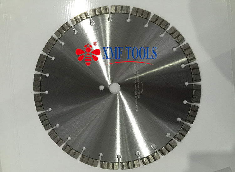 800mm 900mm Turbo Laser Welded Saw Blade , 12 inch Diamond Masonry Blade
